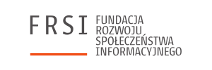 Logo Fundacji Rozwoju Społeczeństwa Informacyjnego